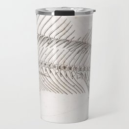 Fish bones Travel Mug