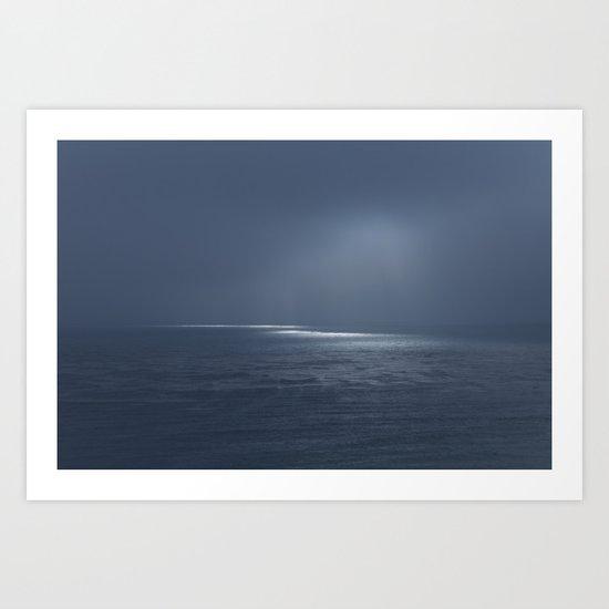 Ocean Glow Art Print