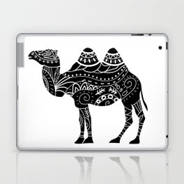 camel silhouette with tribal ornaments Laptop & iPad Skin