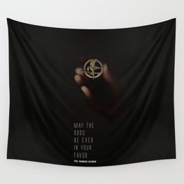 May the odds be ever in your favor Wall Tapestry