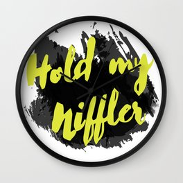 Hold my Niffler Wall Clock