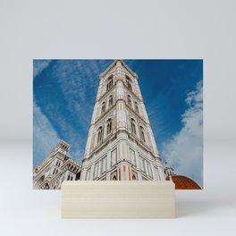 De Cattedrale di Santa Maria del Fiore | The beautiful city of Florence | Travel photography art print Mini Art Print
