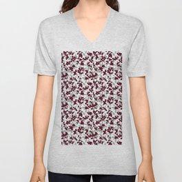 Winterberries Unisex V-Neck