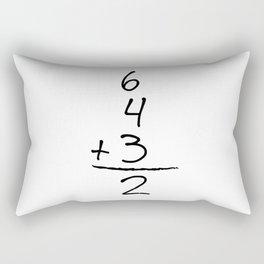 6432 Funny Baseball Rectangular Pillow