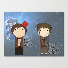 A Timey-Wimey Thing Canvas Print