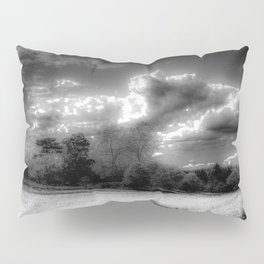 Monochrome Farm Pillow Sham