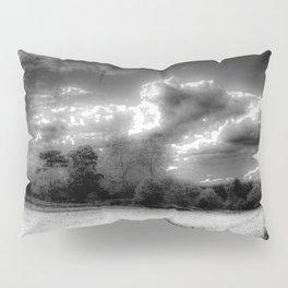 Monochrome Farm Pillow Sham