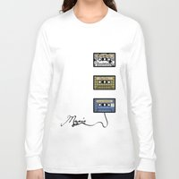 tape Long Sleeve T-shirts featuring tape by Jeffrey Bourgeois