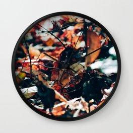 Fall Dreams Wall Clock