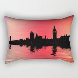 Crimson city 2 Rectangular Pillow