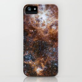 Tarantula Nebula in the Large Magellanic Cloud iPhone Case
