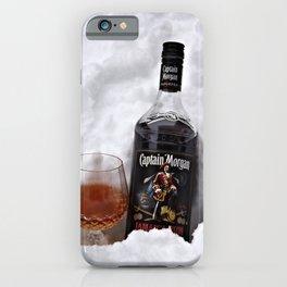 Ice Cold Captain Morgan Rum iPhone Case