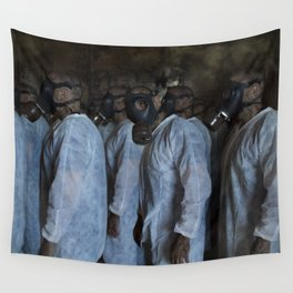Mustard Gas Mechanics Wall Tapestry