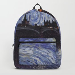 starry night over london Backpack