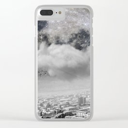 ABOVE US Clear iPhone Case