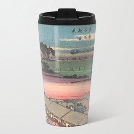 Utagawa Hiroshige 4 Travel Mug