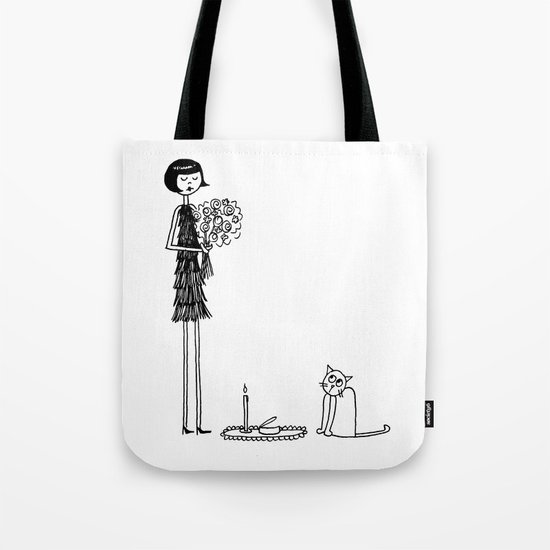 Eloise wondered if she had crossed the threshold into crazy cat lady territory Tote Bag