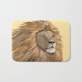 African Lion Bath Mat