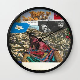 Mrs Kava Wall Clock