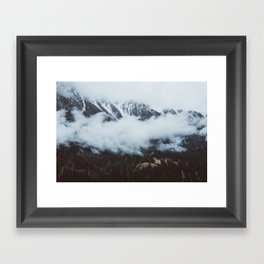 On a cloudy day - Landscape and Nature Photography Framed Art Print
