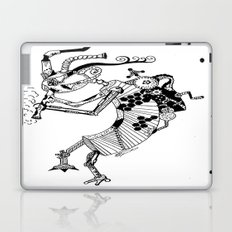 Steampunk Kokopelli Original Pen and Ink Design Laptop & iPad Skin