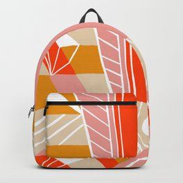 salida, woven rug pattern Backpack