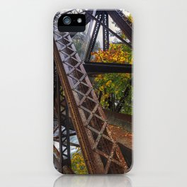 Autumn and Iron iPhone Case