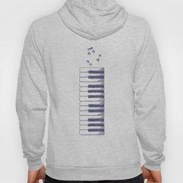 Piano Keys Keyboard Vintage Gifts Hoody