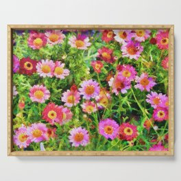 Pinks Serving Tray