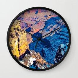 winter light at Grand Canyon national park, USA Wall Clock