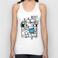 Pass Out Unisex Tank Top