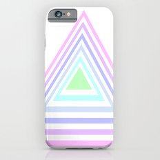 pastel rainbow triangles iPhone 6s Slim Case
