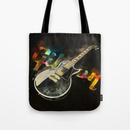Come on Feel the Noise (Gibson Lp) Tote Bag