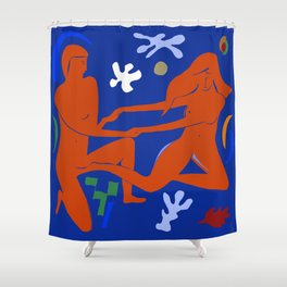 Closeness Shower Curtain