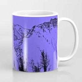 Knik River Mts. Pop Art - 1 Coffee Mug