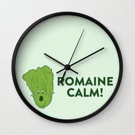 ROMAINE CALM Wall Clock