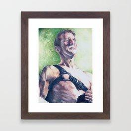 King Wren Framed Art Print