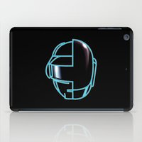 daft punk iPad Cases featuring Daft Punk by Jason Michael