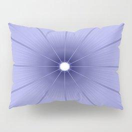 Periwinkle Flower Pillow Sham