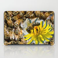 bees iPad Cases featuring Bees by Moody Muse