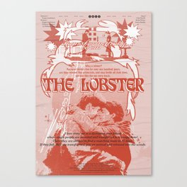 The Lobster Movie Poster Canvas Print
