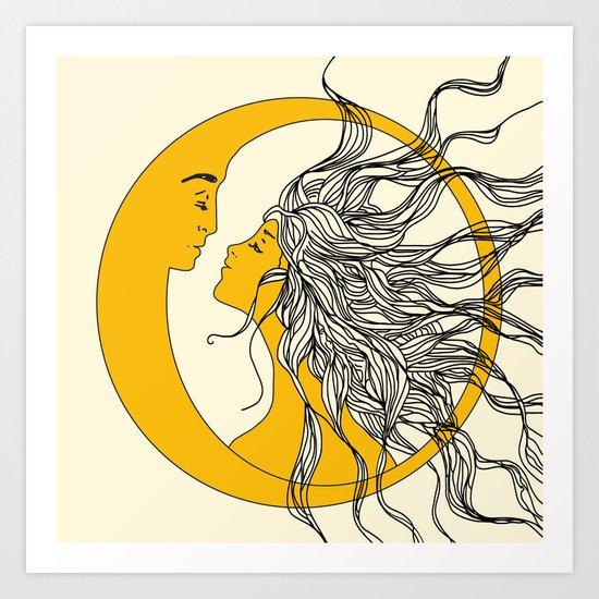 Sun and Moon by nadja1