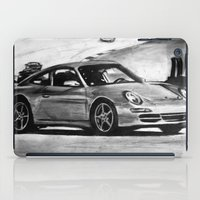 porsche iPad Cases featuring Porsche  by Marcela Caraballo