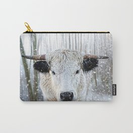 WhitePark Cow Carry-All Pouch