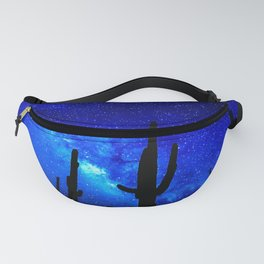 The Milky Way Blue Fanny Pack
