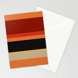 A well-made collection of Police Blue, Ming, Putty, Lanzones, Squash, Brownish Orange, Rusty Red, Brick Red and Chinese Black stripes. Stationery Cards