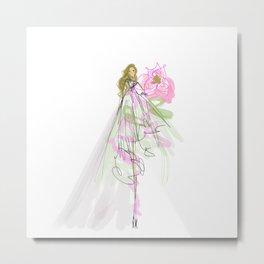 Flower Girl: #3 Metal Print