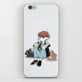 Yvonne and Bbits iPhone Skin