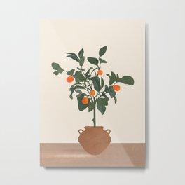 Kumquat Metal Print