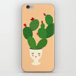 Cactus in Eggcup iPhone Skin